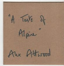 (EZ825) Alex Attwood, A Taste of Alpine - DJ CD
