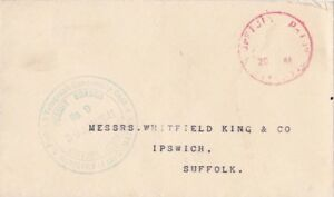 G.B 1941 Official Paid in red with Liverpool Censor cachet  {see Below}