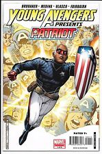 """Marvel Comics - Young Avengers """"Patriot"""" - #1 March 2008"""