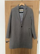 Women's superdry Masculine Gray Coat Size:M Bloggers Favorite
