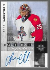 11/12 Ultimate Collection Signatures Auto Jacob Markstrom US-JM Panthers