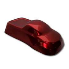 Powder Coating Paint Garnet Red Candy Chrome 1LB (.45KG)