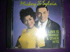 "RARE CD Mickey & Sylvia ""Love Is Strange & Other Hits"" RCA 1989"