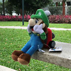 "Super Mario Bros Plush Toy Luigi 9"" Collection Doll Nintendo Luigi's Mansion 2"
