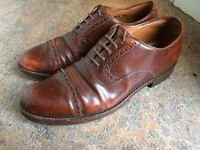 vintage '70s Dack'S derby oxford brown rockabilly hipster mens shoes Sz 10 D