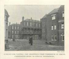 1902 Palace For Paupers, Greenwich Union Workhouse At Sidcup