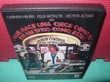 QUE HACE UNA CHICA COMO TU EN UN SITIO COMO ESTE - MAURA - DVD