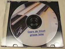 COURS DE TRICOT SUR DVD POUR MACHINES à TRICOTER GROSSE LAINE TYPE BIG'PHIL