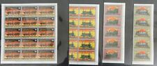 Guinea Guinee Ecuatorial 1972 TRAINS Locomotives Set MNH x 15 (105 Stamps)(GU1)