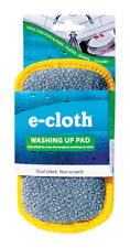 "NEW! E-CLOTH Washing Up All Purpose Scouring Pad 4"" x 7""  10626"