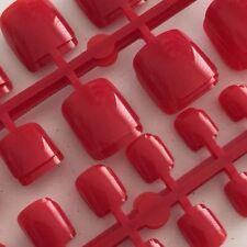 24 Fuß Nagel Tips Zehennägel Kunstnägel Rot