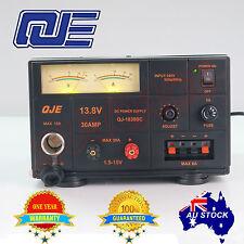 Adjustable Power Supply Linear Mode 1.5-15V 30A 13.8V 12V Ham Car Radio Kenwood