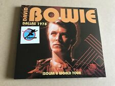 DAVID BOWIE Isolar II World Tour COMPACT DISC SET + BOOKLET INSERT RARE LIVE SET