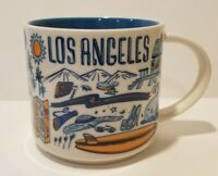 STARBUCKS Coffee Mug  LOS ANGELES 2018  Been There Series 14 oz GLOBE COLLECTION