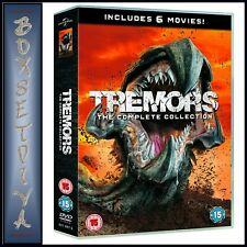 TREMORS THE COMPLETE COLLECTION - 6 FILM COLLECTION BOXSET  **BRAND NEW DVD