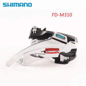 Shimano Altus FD-M310 7/8/21/24 Speed Front Derailleur 31.8/34.9mm