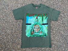 Iron Maiden T Shirt Mens Small Green 2017 Legacy Of The Beast World Tour