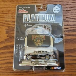 Mark Martin Platinum 50th Anniversary Racing Champions Nascar 1:64