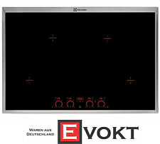 Electrolux Ehd8740Xok Built In 80 cm Induction Hob 4 Cooking Zones Black Genuine
