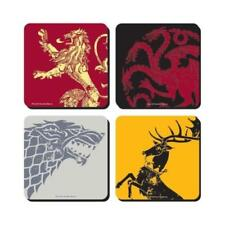 Game Of Thrones Coaster 4-pack Half Moon BICCHIERI BOCCALI