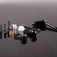 RC Aluminum Bearing Steering Bell crank Assembly 1/10 BLACK TAMIYA  CC01 CC048