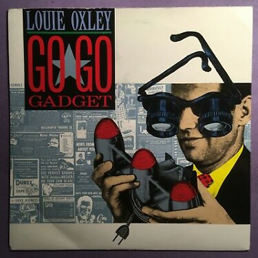 Louie Oxley  Go Go Gadget 7 single picture sleeve COOL 121
