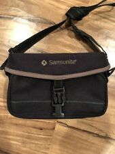 Samsonite Small Camera Black Bag Travel Case Model #200
