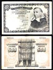 BILLETE  DE  500  PESETAS  AÑO 1946   ( MB13474 )