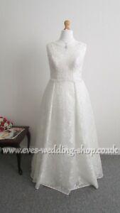 Beautiful ivory WED2BE ''EZRA'' wedding dress UK 18 - check measurements