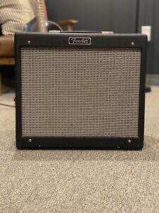 "2000 USA Classic Fender Blues Junior JR 15 - Watt 1x12"" Guitar Combo Amp - Rev C"