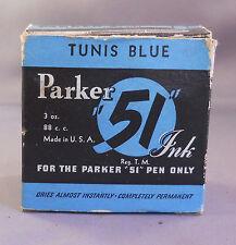 Parker Vintage 51 Ink---Tunis Blue--3oz