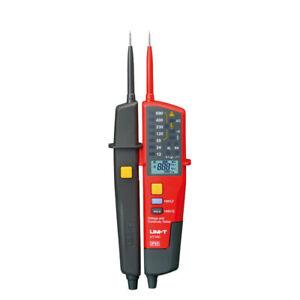 UNI-T UT18C Spannungskontinuität Elektrischer LCD LED  Detektor Zweipoltester