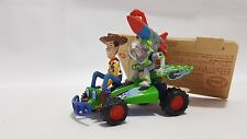 Disney Store Toy Story Christmas Tree decorations Woody and Buzz on Car