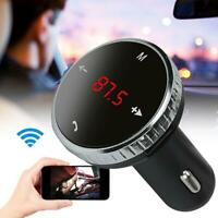 Wireless Bluetooth FM Transmitter Modulator Car Kit MP3-Player SD Fernzugriff