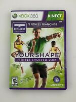 Your Shape Fitness Evolved 2012 - Xbox 360 Game - Complete & Tested