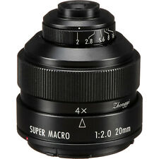 Objektiv Zhongyi Mitakon Creator 20mm f/2 Nikon F AI