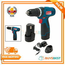 Silverline Tools 10.8V Drill Driver With 1.3Ah Li-ion Battery & Charger - 521457