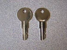 Truck topper T-Handle replacement keys by code K125-K183