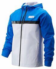 New Balance Men's NB Athletics 78 Jacket Blue with White & Black
