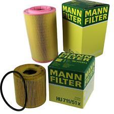 MANN-FILTER Set Oil Filter Air Filter Inspection Set MOL-9694122