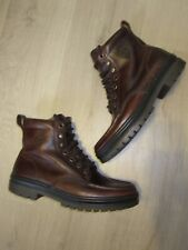 Men's VINTAGE TIMBERLAND BROWN LEATHER ANKLE BOOTS TRAIL HIKING SIZE 9 M