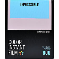 Impossible Instant Color Film Lilac Frames for Polaroid 600 type cameras 4634