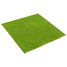 50x50cm Landscape Grass Mat Model Train Adhesive Paper Scenery Layout Lawn E5Y2