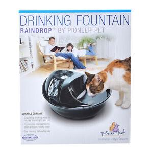 Pioneer Pet Ceramic Pet Fountain Raindrop Style 1.77L