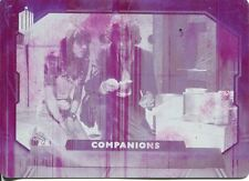 Doctor Who 2015 Printing Plate Companions C7 (Magenta) Error On Card