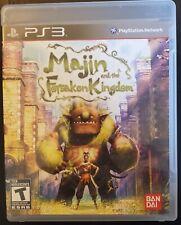 CIB Used Majin and the Forsaken Kingdom PS3 (Sony PlayStation 3, 2010)