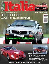 Auto italia Magazine issue 232 Alfa GTV Alfetta Ferrari 330 Fulvia F&M