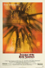 INVASION OF THE BODY SNATCHERS REGULAR STYLE UNUSED FOLDED 27X41 MOVIE POSTER