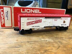 Lionel - Budweiser Beer Billboard Reefer Car - No. 6-9850 - O Gauge
