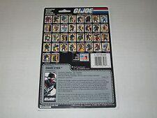 Gi Joe Vintage 1989 SNAKE EYES UNCUT FULL FILE CARD